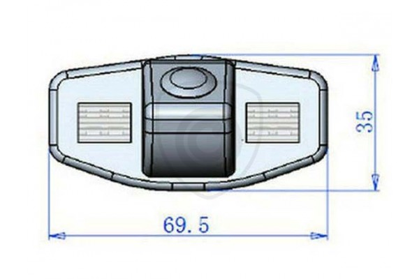 Honda Accord, Civic tolatókamera
