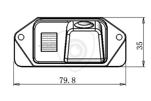 Mitsubishi Lancer, Outlander Tolatókamera