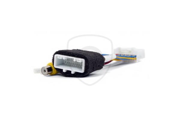 Vezetékes adapter a tolatókamerának monitorhoz való csatlakoztatására Toyota Touch 2 / Entune / Link