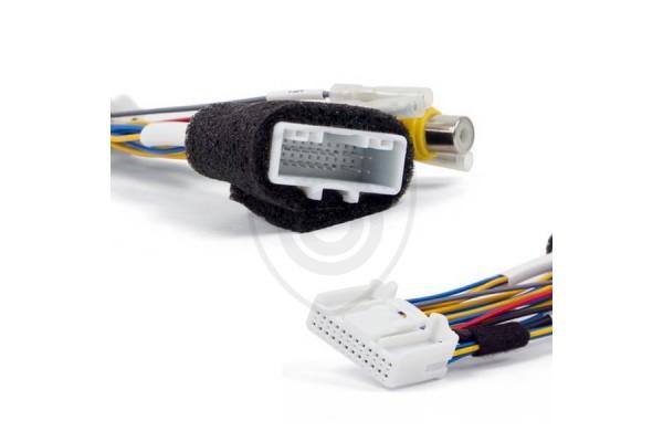Vezetékes adapter a tolatókamerának monitorhoz való csatlakoztatására, Renault, Dacia és Opel járművekhez