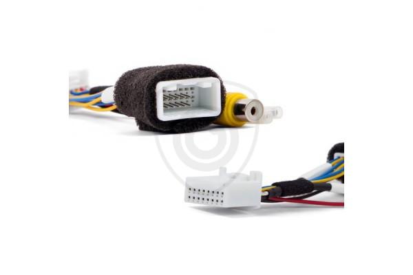 Vezetékes adapter a tolatókamerának Toyota és Subaru monitorhoz való csatlakoztatására