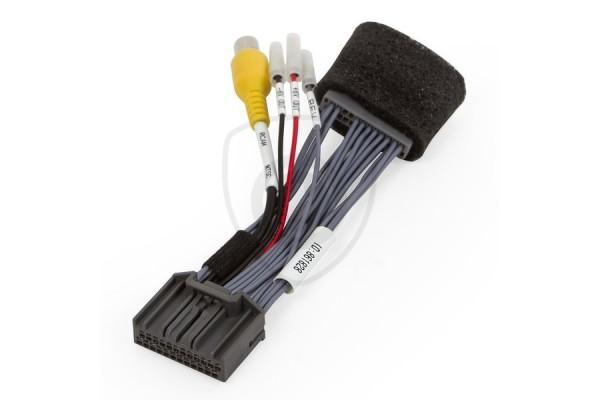 """Vezetékes adapter a tolatókamerának Honda 8"""" i-MID monitorhoz való csatlakoztatására"""