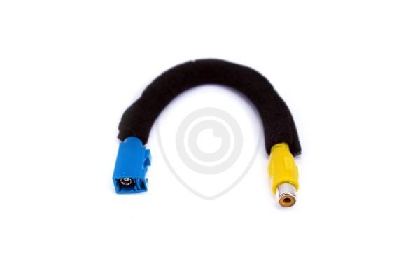 Vezetékes adapter a Fakra RCA tolatókamera csatlakoztatására