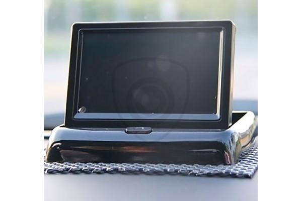 """4,3"""" átlóméretű tolatókamerák számára ajánlott billenthető monitor"""