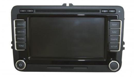 tolatókamera monitorral RNS510 és Columbus