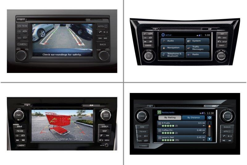 Gyári monitor Nissan Connect 2 a 3