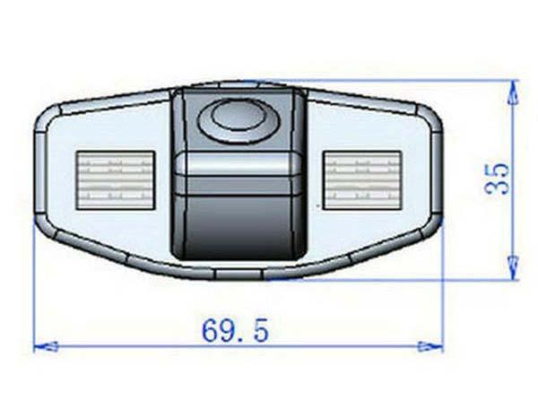 Tolatókamera Honda Accord, Civic, Jazz