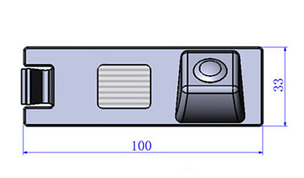 Hyundai, ix35, Tucson tolatókamera