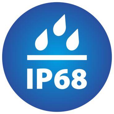 tolatókamera vízállóság IP68