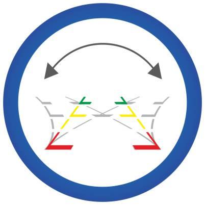 Dinamikus trajektóriákkal való kibővítés tolatókamera